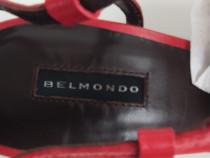 Sandale Belmondo Originale - Piele Rosu, M 38