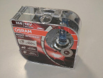 Set 2 becuri h4 osram night breaker laser 150% 64193nl-hcb