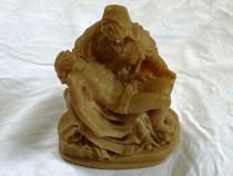 Statuie statueta bibelou din alabastru masiv