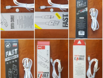 Cablu date/încărcare rapida IPhone, Micro usb, Type-C