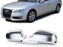 Carcase Oglinzi Audi A3 A4 A5 (culoare aluminiu mat) 2009+