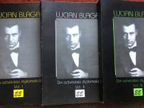 Din activitatea diplomatica, Lucian Blaga