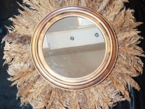 Decoratiuni perete oglinda decorativa pampas