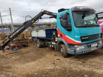 Inchiriez camion 7,5 tone cu macara si basculare