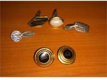 Colectionari! Diversi Butoni + Cercei Vintage , Functionali