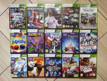 Xbox 360: GTA 5, Game Party, Joy Ride, Disneyland, Spiderman