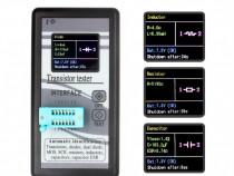 Tester ESR tranzitori mosfet condensatori diode rezistori SC