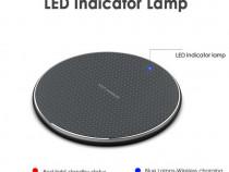 Incarcator Wireless Samsung iPhone Fast Charge, Incarcare Ra