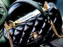 Geanta Chanel cu mâner, 3compartimente/Italia