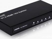 Splitter HDMI Well, 4 iesiri, FullHD, V1.3 - Impecabil