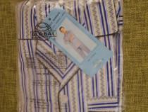 Pijama Barbati Bumbac Maneci Lungi Pantaloni Lungi XXXL 56