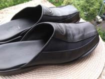 Slapi piele Vanni, mar. 40 (25 cm) made in Italia