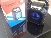 Boxa portabila Noua 30 W, bluetooth, stick, radio, USB