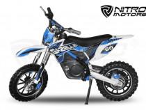 Motocicleta electrica pentru copii Eco Gazelle 500W Albastru