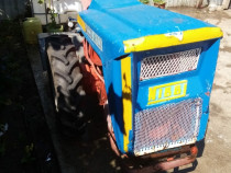 Motocultor diesel Nibbi 19cp cu freză și remorcă