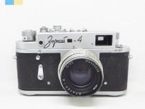 Zorki 4 cu obiectiv Jupiter 8 50mm f/2 in etui original