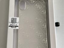 Husa silicon Guess pentru iPhone X