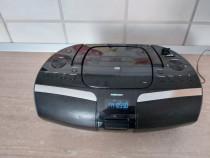 Sistem audio HIFI portabil, radio + cd player + MP3 + USB/SD