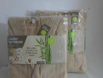 Halat baie dama bumbac organic marimea S M L XL Nou eticheta