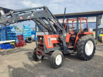 Tractor Fiat Agri 59 CP cu incarcator frontal