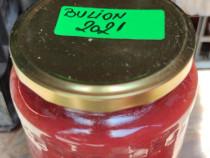 Bulion și suc de roșii de casă