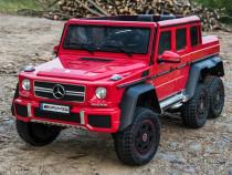Masinuta electrica Mercedes G63 6x6 Premium 180W #RED