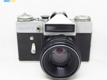 Zenit E cu Helios-44-2 58mm f/2 M42