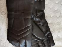 Mănuși piele motocicliști