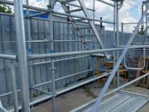 Schela metalica constructii, galvanizata și zincata