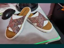 Papuci dama cu sclipici