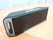 Boxa stereo portabila cu bluetooth si subwoofer incorporat