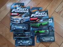 Machete HotWheels - set Fast and Furious 2021 complet