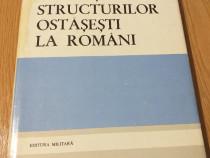 Evolutia structurilor ostasesti la romani (autograf autor)
