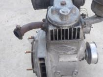 Motor diesel pe stânga defect