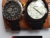 2 ceasuri sport/fashion, diametre mari, păstrate excelent, f