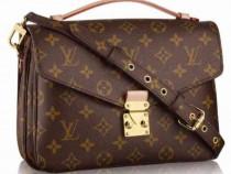 Genti LV,Chanel piele naturală 100%/Franta,accesorii incluse