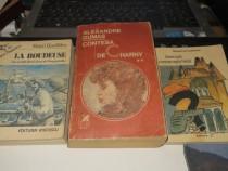 Lot 3 romane din literatura Franceza