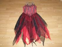 Costum serbare rochie dans pentru copii de 8-9-10 ani