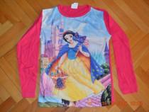 Bluza roz Alba ca zapada, material subtire,de vara,dif marim