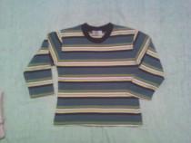 Bluza cu dungi multicolore