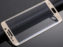 Folie sticla Full Cover curbata SAMSUNG Galaxy S7 Edge, S7