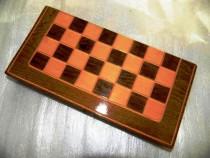 Set joc sah si table,3dim.handmade,calitate,ramburs posta