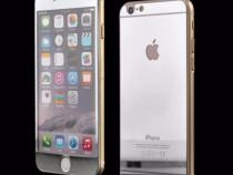 Folie sticla iphone 6 6s tunning argintiu oglinda fata+spate