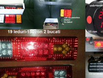 Lampi cu 19 leduri pentru camioane ,utilitare sau remorci12v