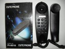 Cute phone pi-8010, china, telefon fix, nou, la cutie, acces