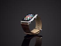 Curea ceas Apple watch 42mm, piele tip crocodil,cu adaptoare