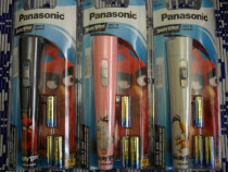 Panasonic, angry birds, lanterna led, noua, sigilata, 3 bate