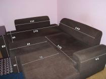 Canapea modulara stofa