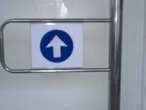 Porti batante / de unic sens- pt intrare in supermarket