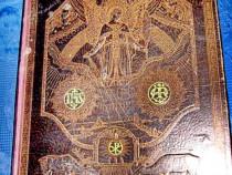 102A-Carte mare veche cult 1922-Comoara casei catolice.